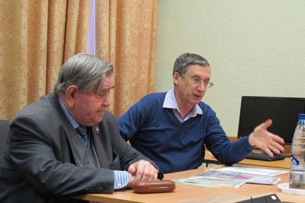 Заседание Центрального совета Союза маркшейдеров 2016